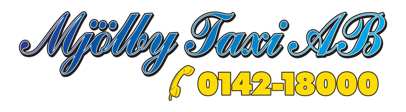 Mjölby Taxi Logo